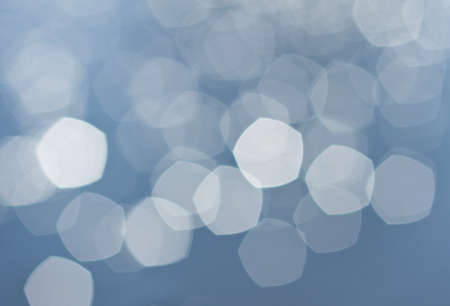 background abstraction: Bright of colorful sun and sea bokeh background Stock Photo