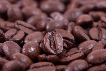 jamoke: Background of roasted coffee closeup