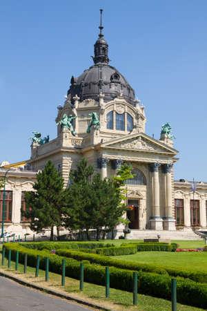 szechenyi: Szechenyi Medicinal Bath in Budapest, Hungary