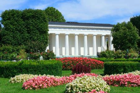 Theseus Temple in the Volksgarten park in Vienna, Austria.