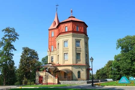 Water Tower in Mariinsky Park, Kyiv, Ukraine