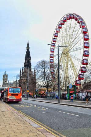 princes street: Edinburgh Princes Street