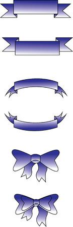Blue Ribbon Illustration