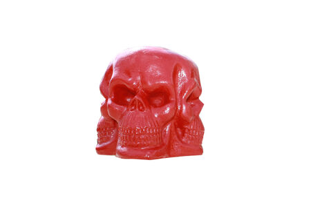 Red Skull Stock Photo - 26786066