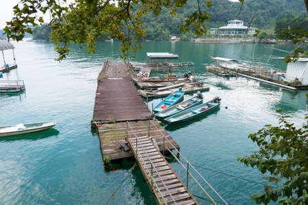 Small wharf at Sun Moon Lake