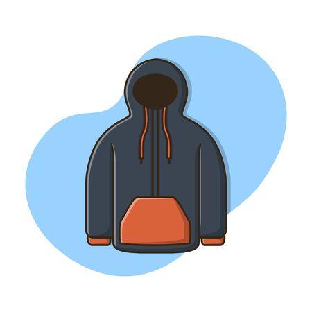 Jacket Clothing Icon Vector Design Illustration