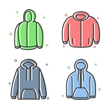 Sweatshirt Jacket Style Icon Design