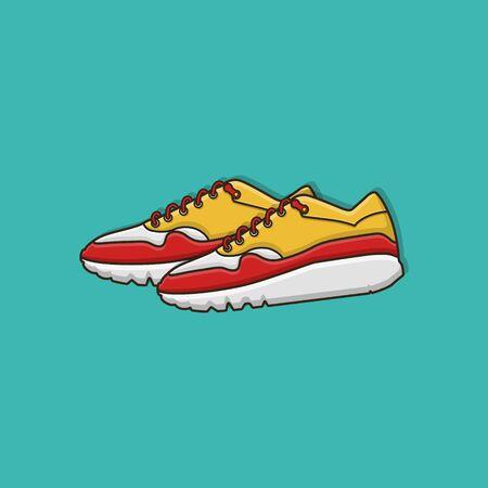 Sport Footwear Vector Design 矢量图像