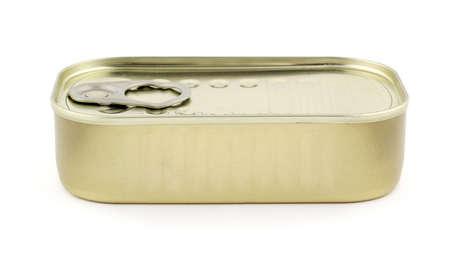sardine: Metal stagno di sardine in scatola
