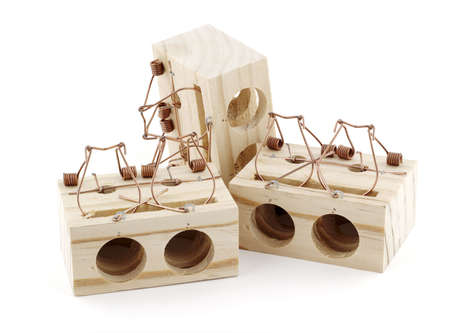 mechanical mouse: Mousetrap timber stacked