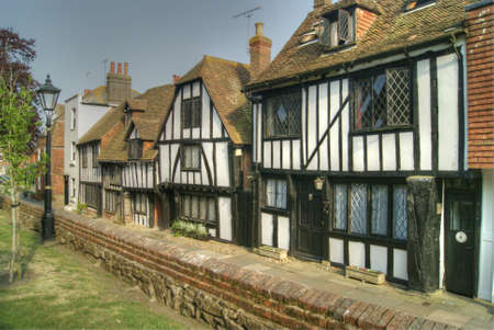 tudor: Church Square, Rye, East Sussex, England Stock Photo
