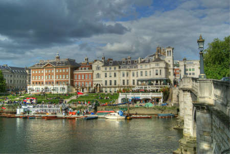 thames river: Richmond Riverside, Richmond-upon-Thames, England
