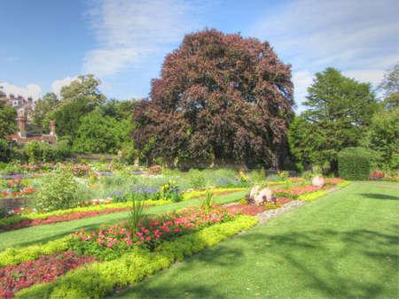 grange: Southover Grange Gardens, Lewes, England Stock Photo