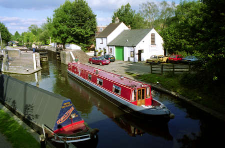 middlesex: The Grand Union Canal at Rickmansworth,UK