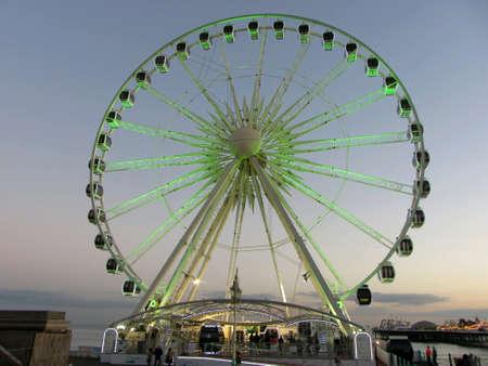 sussex: The Brighton Wheel, East Sussex, England,UK