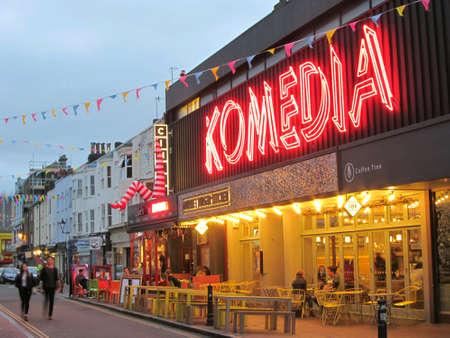 Komedia, Brighton, England,UK