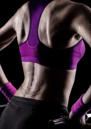 transpiration: Gymnaste transpiration