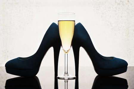 women s feet: Women Stock Photo