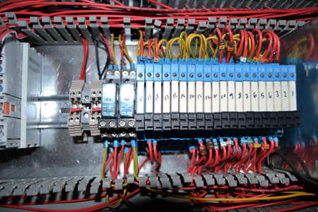 forth: DC motor forward and reverse operation, PLC automation, engine control panel, DC motors to run back and forth, control panels, dc motor control panel cable system