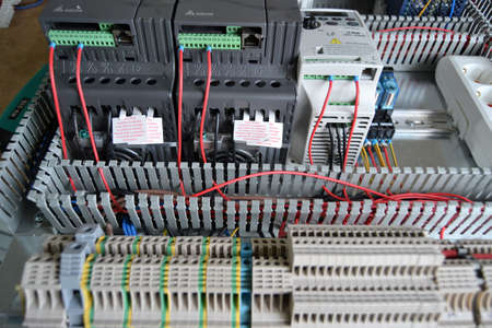 ac: Industrial automation, PLC system, AC motor speed control