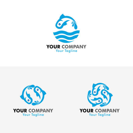 Vector Fish Logo For your Company