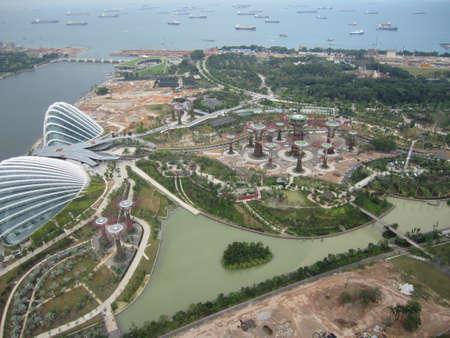 Singapore s Marina Bay from above photo