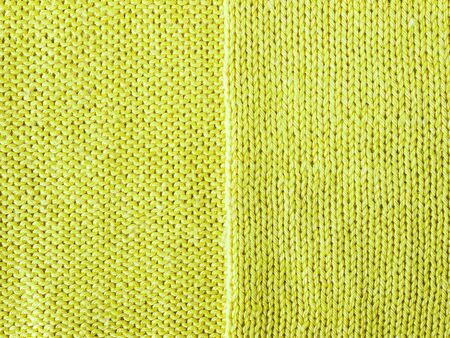 purl: green lime knitted Jersey as a textile background