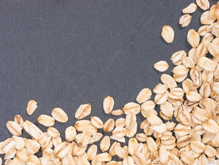 oatmeal: oatmeal background Stock Photo