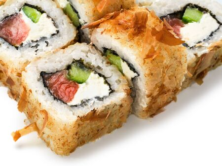 close up view of roll