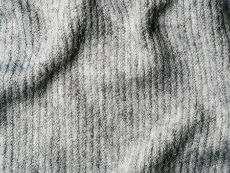 Gray sweater fabric texture