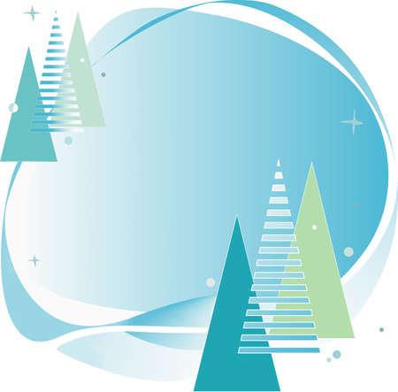 christmas motive: Abstract background with christmas motive