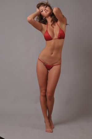 hot breast: Портрет красивая сексуальная девушка