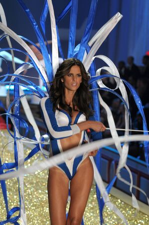 NEW YORK - NOVEMBER 10: Victoria's Secret Fashion Show model walks the runway during the 2010 Victoria's Secret Fashion Show on November 10, 2010 at the Lexington Armory in New York City.  Stock Photo - 18431975