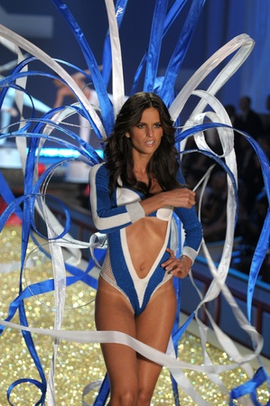 NEW YORK - NOVEMBER 10: Victoria's Secret Fashion Show model walks the runway during the 2010 Victoria's Secret Fashion Show on November 10, 2010 at the Lexington Armory in New York City. 