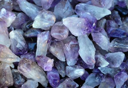 Texture from natural amethyst  photo