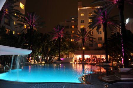 MIAMI BEACH, FL - JULY 18: A general view of atmosphere at the Mercedes-Benz Fashion Week Swim 2014 Official Kick Off Party at the Raleigh Hotel on July 18, 2013 in Miami Beach, Florida