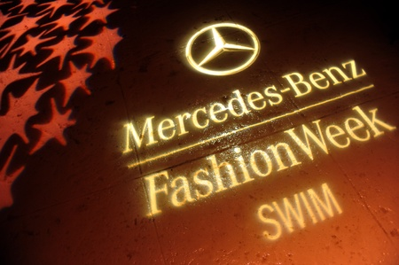 MIAMI BEACH, FL - JULY 18: A view of atmosphere at Mercedes-Benz Fashion Week Swim 2014 Official Coverage - Day 1 at Raleigh Hotel on July 18, 2013 in Miami Beach, Florida