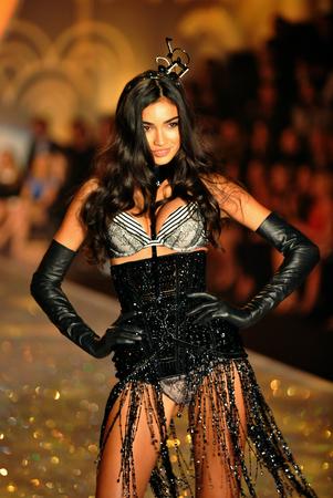 kelly:  NEW YORK, NY - NOVEMBER 13: Kelly Gale walks in the 2013 Victorias Secret Fashion Show at Lexington Avenue Armory on November 13, 2013 in New York City.