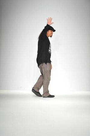 ロサンゼルス、カリフォルニア州 - では、13 年 3 月: デザイナー ロザリオ スタイル ファッション週秋 2014 年は LA ライブ イベント デッキで 2014 年 3