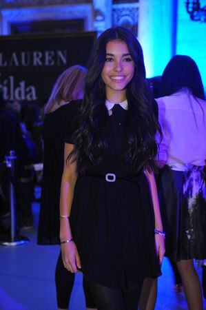 children's show: NEW YORK, NY - MAY 19: Madison Beer appears at the Ralph Lauren Fall 14 Childrens Fashion Show in Support of Literacy at New York Public Library on May 19, 2014 in New York City.