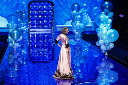victorias secret show: LONDON, ENGLAND - DECEMBER 02: Singer Taylor Swift perfoms walks the runway during the 2014 Victorias Secret Fashion Show on December 2, 2014 in London, England.
