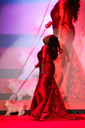 jones: NEW YORK, NY - FEBRUARY 12: Star Jones walks the runway at the Go Red For Women Red Dress Collection 2015 presented by Macys fashion show during MBFW Fall 2015 at Lincoln Center on February 12, 2015 in NYC Editorial