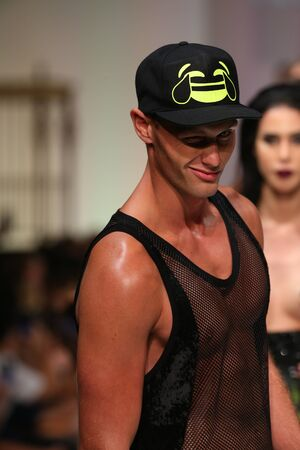 alumni: NEW YORK, NY - SEPTEMBER 12: Models walk the runway finale at the Marco Marco fashion show during Spring 2016 New York Fashion Week at Gotham Hall on September 12, 2015 in NYC.