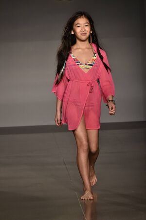 simpson: NEW YORK, NY - OCTOBER 17: A model walks runway at Jessica Simpson Collection FallWinter 2016 Runway Show during petiteParade at The Spring Studio on October 17, 2015 in NYC.