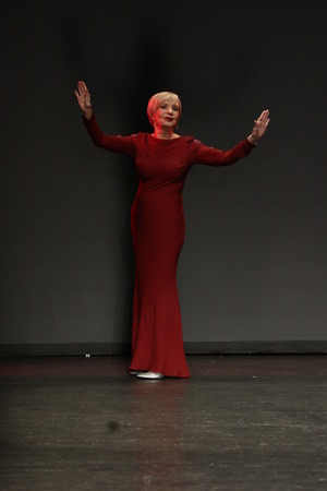 NEW YORK, NY - FEBRUARY 11: Actress Florence Henderson walks the runway at The American Heart Association's Go Red For Women Red Dress Collection 2016 Presented By Macy's on February 11, 2016 in NYC.