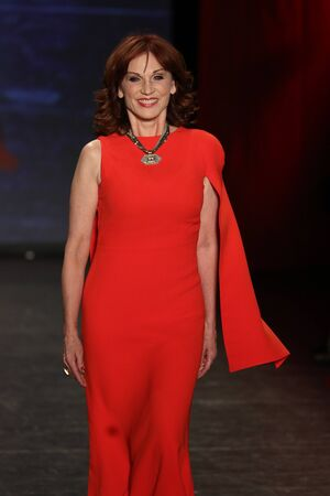 NEW YORK, NY - FEBRUARY 11: Actress Marilu Henner walks the runway at The American Heart Association's Go Red For Women Red Dress Collection 2016 Presented By Macy's on February 11, 2016 in NYC.