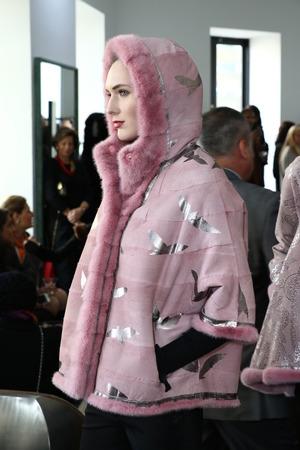 helen: NEW YORK, NY - FEBRUARY 11: Models pose at the Helen Yarmak Intl Presentation during Fall 2016 New York Fashion Week on February 11, 2016 in New York City.