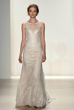 kelly: NEW YORK, NY - APRIL 20: A model walks the runway at the Kelly Faetanini SpringSummer Bridal 2018 show on April 20, 2017 in New York City.
