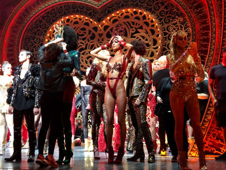 NEW YORK, NEW YORK - SEPTEMBER 09: Rehearsal before The Blonds x Moulin Rouge The Musical during New York Fashion Week: The Shows on September 09, 2019 in NYC. Editorial