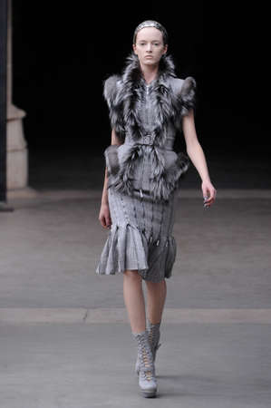 editors: Alexander McQueen Paris autumnwinter 2011 collection in Paris in March